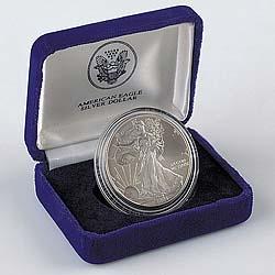 Silver Eagle Coin Gift Box American Eagle Silver Dollar